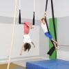 Trapez und Vertikaltuch Training